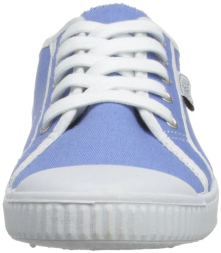 ca mujer Plimsoll lona Azul baja a de de 9KB7L zapatillas Azul q4f76Ct