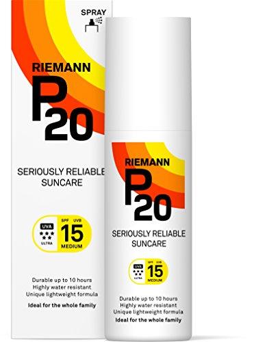 Riemann P20 Spf15 Sunscreen 100ml (Best Once A Day Sunscreen)