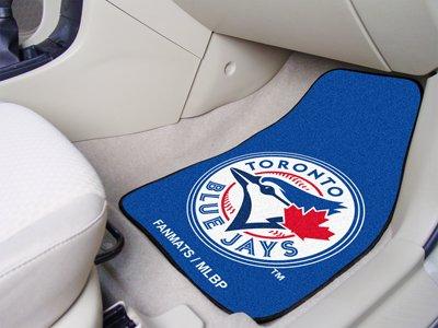 (MLB - Toronto Blue Jays 2 Piece Front Car Mats)