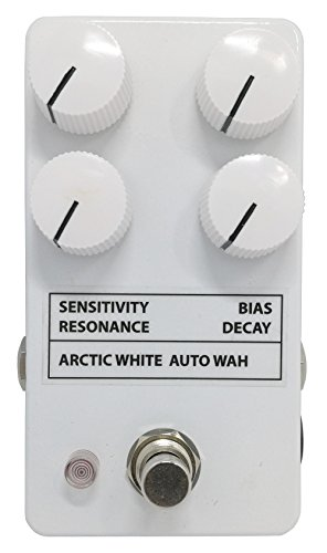 Arctic White Auto Wah Filter Effect Guitar Pedal by 3pdt