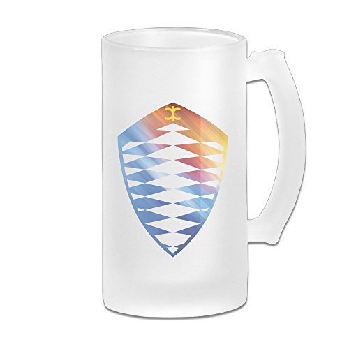 koenigsegg-cool-logo-design-great-extra-large-frosted-glass-beer-mug-personalized-beer-stein-tea-cof
