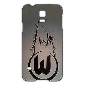 Fashion Design FC Wolfsburg Football Club Logo Phone Case Cover For Samsung Galaxy S5mini 3D Plastic Phone Case