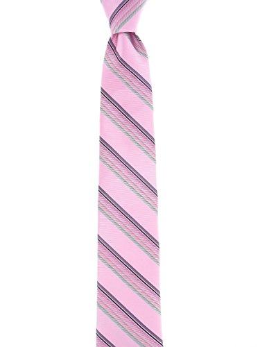 Susan G Komen Multi-Stripe Tie, 650 Pink, OS