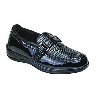 Orthofeet Chelsea Comfort Orthopedic Diabetic Orthotic Womens Loafers Slip On Shoes