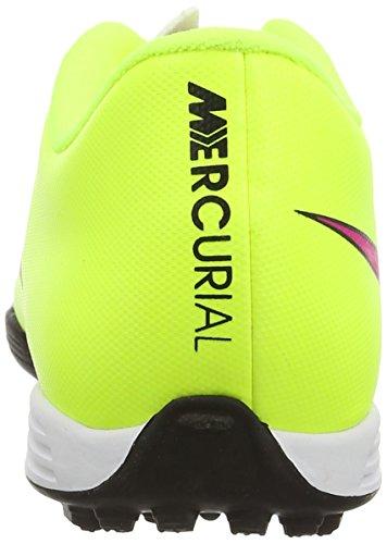 Nike Herren Mercurial Vortex Ii TF Fußballschuhe Gelb - Jaune - Yellow (Volt/Hyper Pink/Black 760)