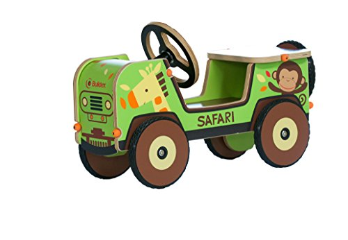 Buildex Safari Adventure Jungle Truck Ride On