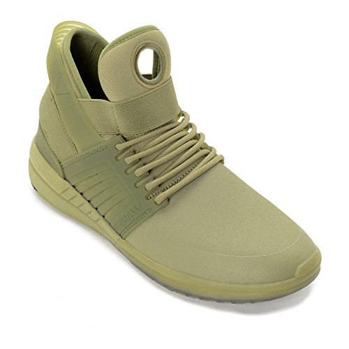 Supra , Chaussures de skateboard pour homme vert Dried Herb