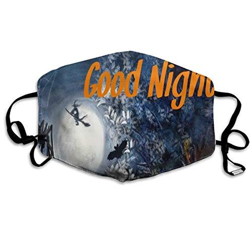 Kupik Happy Halloween Good Night Anti Dust Mouth Mask Gift for Friends Man Woman ()
