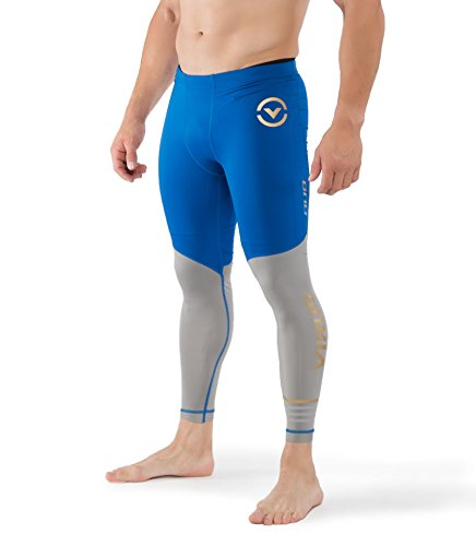 VIRUS // PERFORMANCE Men's Bioceramic Compression Tech Pants (AU8.5) (L, Electric - Men Au