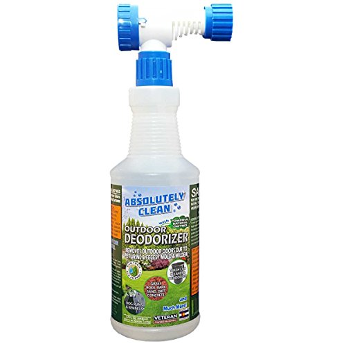 Amazing Outdoor/Yard Deodorizer - Just Spray & Walk Away - Pet Waste & Outdoor Odors - Works on Grass, AstroTurf, Decks, Fences, Dog Runs & More  - Prevents Lawn (Turf Deck)