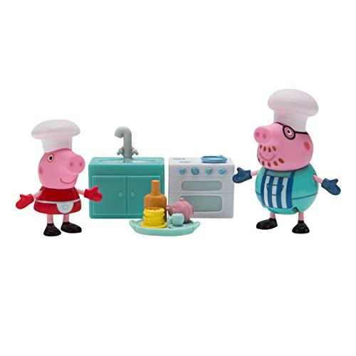Peppa Pig Little Rooms, Kitchen with Peppa...
