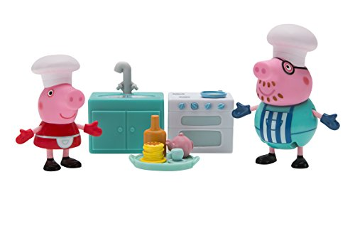 (Peppa Pig Little Rooms Cooking Playset)