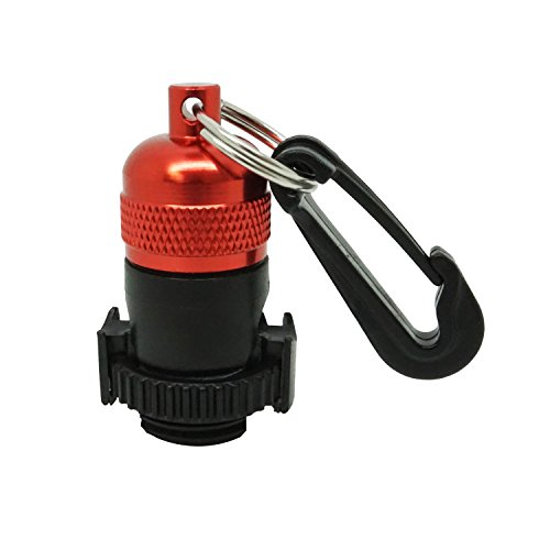 Scuba Diving Magnetic Regulator Octopus Hose Holder Clip (Red) -