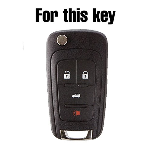Amazon.com: Carcasa de silicona para llave de coche para ...