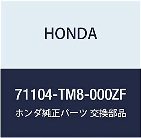 Honda Genuine 71104-S2A-000ZD Towing Hook Cover