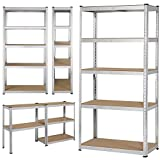 Topeakmart 5 Tier Storage Rack Heavy Duty