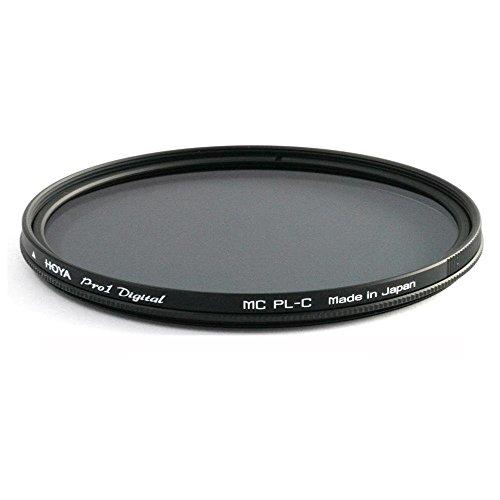 Hoya PRO1D PL-Cir 72 mm - Filtro Polarizador para Objetivos de 72 mm, Montura Negra