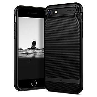 Caseology Wavelength for Apple iPhone SE 2020 Case for iPhone 8 Case (2017) for iPhone 7 Case (2016) - Matte Black