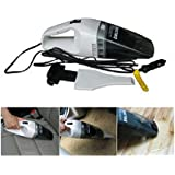 Dblone DBL370 12V 60W Portable Wet and Dry Car Vacuum Cleaner Black