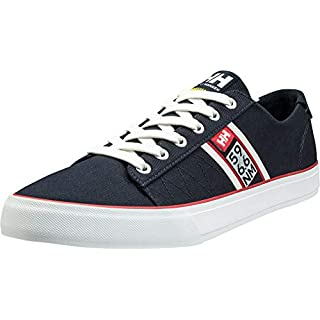 Helly-Hansen Men's Low-Top Sneakers, Blue Navy Off White Flag Red, 45