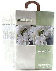 YUMSUM Jazmín Bolsitas perfumadas Bolsas Fragantes para cajones Armarios Armario Baño Baños, 25gX8 Pack (Jasmine)