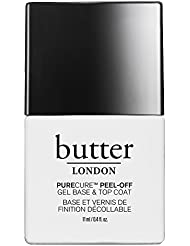 butter LONDON Purecure Peel-Off Gel Base And Topcoat, 0.4 oz.