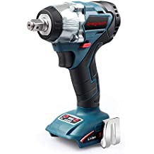 """Enegitech 18V Cordless Impact Wrench Brushless, 4 Rev 1/2"""" Automatic Power Tool for Car Tyre, Compatible with Makita 18 volt Lithium-Ion Battery(Tool Only)"""