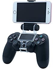 Mcbazel Smart Phone Clip Holder Mount Stand voor PS4 / PS4 Slim / PS4 Pro Controller Zwart