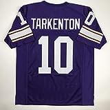 Unsigned Fran Tarkenton Minnesota Purple Custom