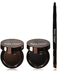 4 in 1 Gel Eyeliner and Eyebrow Powder Kit Brown Black...