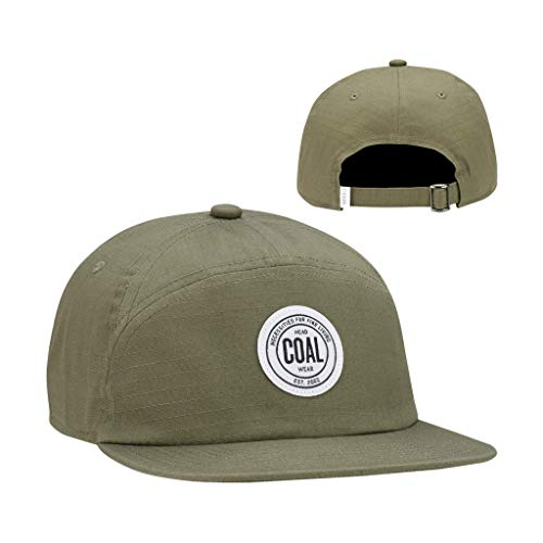 - Coal Men's The Will 7 Panel Strapback Cap, One Size Olive