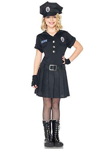 Girl Cop Costume (Leg Avenue Children's Playtime Police Costume)