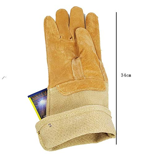 Goquik Welding Gloves Industrial Labor Protection Protective Gloves, Factory Workshop Gloves by Goquik (Image #2)