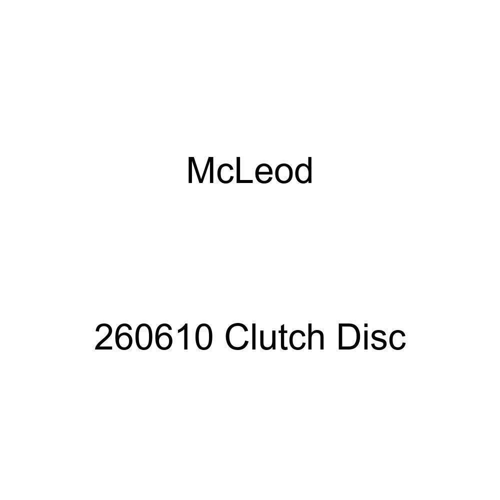 McLeod Racing 260610 Disc Dual Performance Sprung Hub 10.5in X 1 X 10 Spline