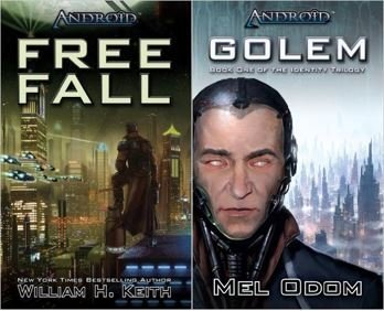 Android: Free Fall & Golem (Identity Trilogy Book 1) Paperback Set
