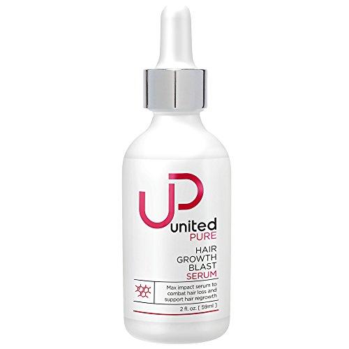 New Ultra-Premium Hair Growth Serum - 2oz United Pure Award Winning Redensyl, Capixyl, Baicapil, AnaGain, HairSpa, Orich-37, Pentavitin, Caffeine - Leave on Serum Helps Prevent Hair Loss All Day