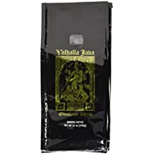Valhalla Java Ground Coffee by Death Wish Coffee Company, USDA Certified Organic & Fair Trade (12 Ounce Bag)