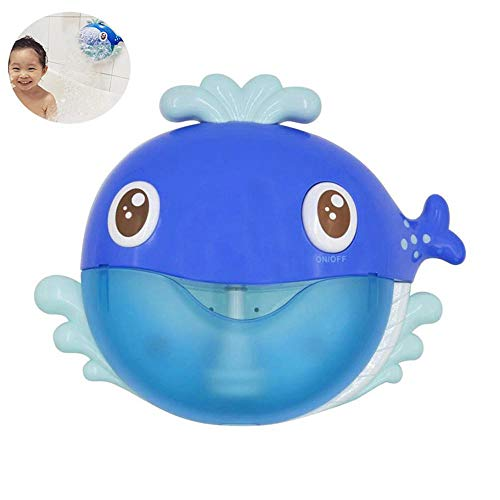 Volwco Baby Bubble Bath, Whale Bubble Machine, Baby Bath Toys, Automatic Bubble Maker Baby Bubble Bath Toys, Musical Bubble Blower, Interactive 12 Nursery Rhymes Bubble Bathtub Toys Happy Tub Time