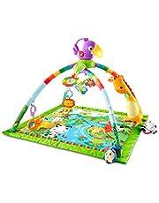 Fisher-Price DFP08 - Regnskog gym, babylekmatta med musik och ljus, lämplig från födseln för nyfödda