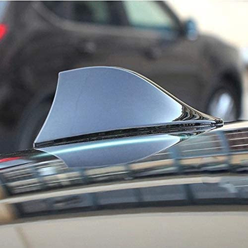 SENLINSQ ユニバーサルカーシャークフィンアンテナアンテナアンテナルーフトップテールアンテナアンテナアンテナカバー、車BMW用、ホンダ用、トヨタ用、ヒュンダイ用、VW用、起亜車用、日産用