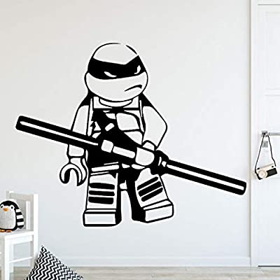 Ajcwhml Tortuga Ninja decoración Familiar Pegatinas de Pared ...