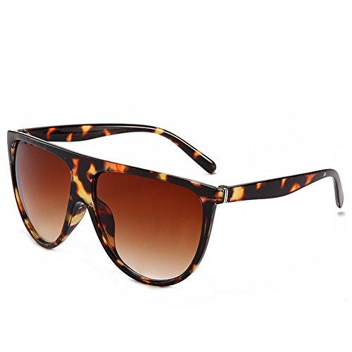 de mm grande de americana mujeres NIFG sol caja tiro moda 138 y caja la Gafas de de las de C salvajes gafas 60 europea sol 140 la 5CwAq