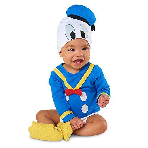 Deluxe Donald Duck Halloween Costume Bodysuit Size 9 - 12 ...  Deluxe Donald D...