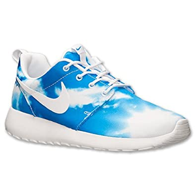 quality design 17124 9c6a4 Nike Roshe Run Santa Monica Blue Sky Clouds Mens Casual Shoes (10.5 M)