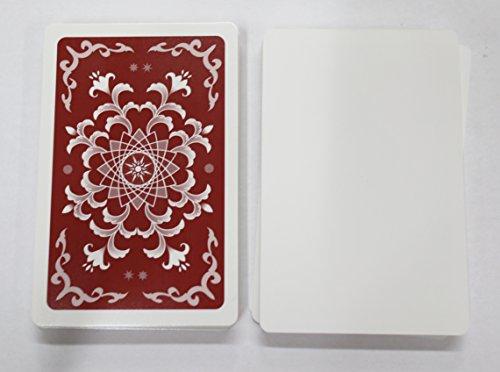 XTAROT 片面白紙カード56枚 ゲーム開発用 【片面ニス】 (茶)