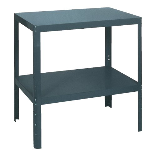 Edsal WT243618 Industrial Gray 16 Gauge Steel Multi-Purpose Work Table, 36'' Width x 18'' Height x 24'' Depth by EDSAL