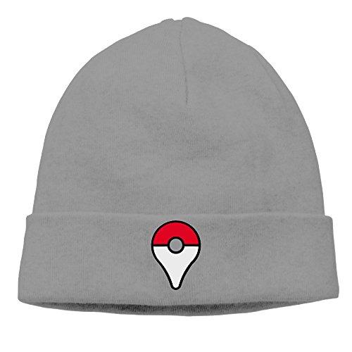 Alexanders Costumes Size Chart (DETO Men's&Women's Pokemon Go Patch Beanie Mountain ClimbingDeepHeather Cap)