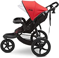Red Jeep Classic Jogging Stroller