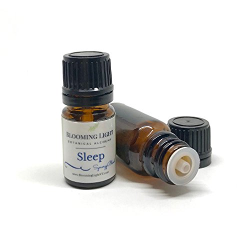 Sleep Pure Essential Oil Blend - 10 ml by Blooming Light Botanical Alchemy