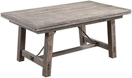 Emerald Home Dakota Charcoal 68 Dining Table